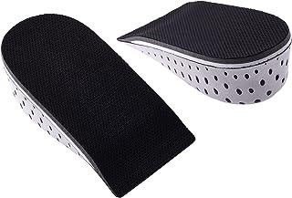 Men Women Unisex Memory Foam Increase Height High Half Insoles Shoe Inserts Cushion Pads GH9776 4.3cm