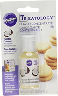 Wilton Treatology Flavor Concentrate 0.6 Ounce, Toasted Coconut,