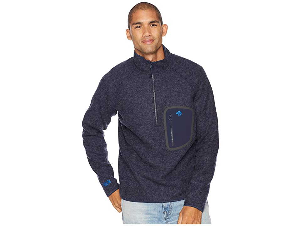 Mountain Hardwear Hatchertm 1/2 Zip Pullover (Dark Zinc) Men