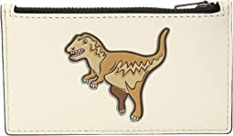 Zip Card Case Featuring Mascot