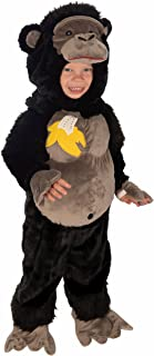 Forum Novelties Baby Boy's Plush Cuddlee Gorilla Costume, Multi, Infant