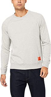 Calvin Klein Men's Monogram Logo Long Sleeve Sweatshirt