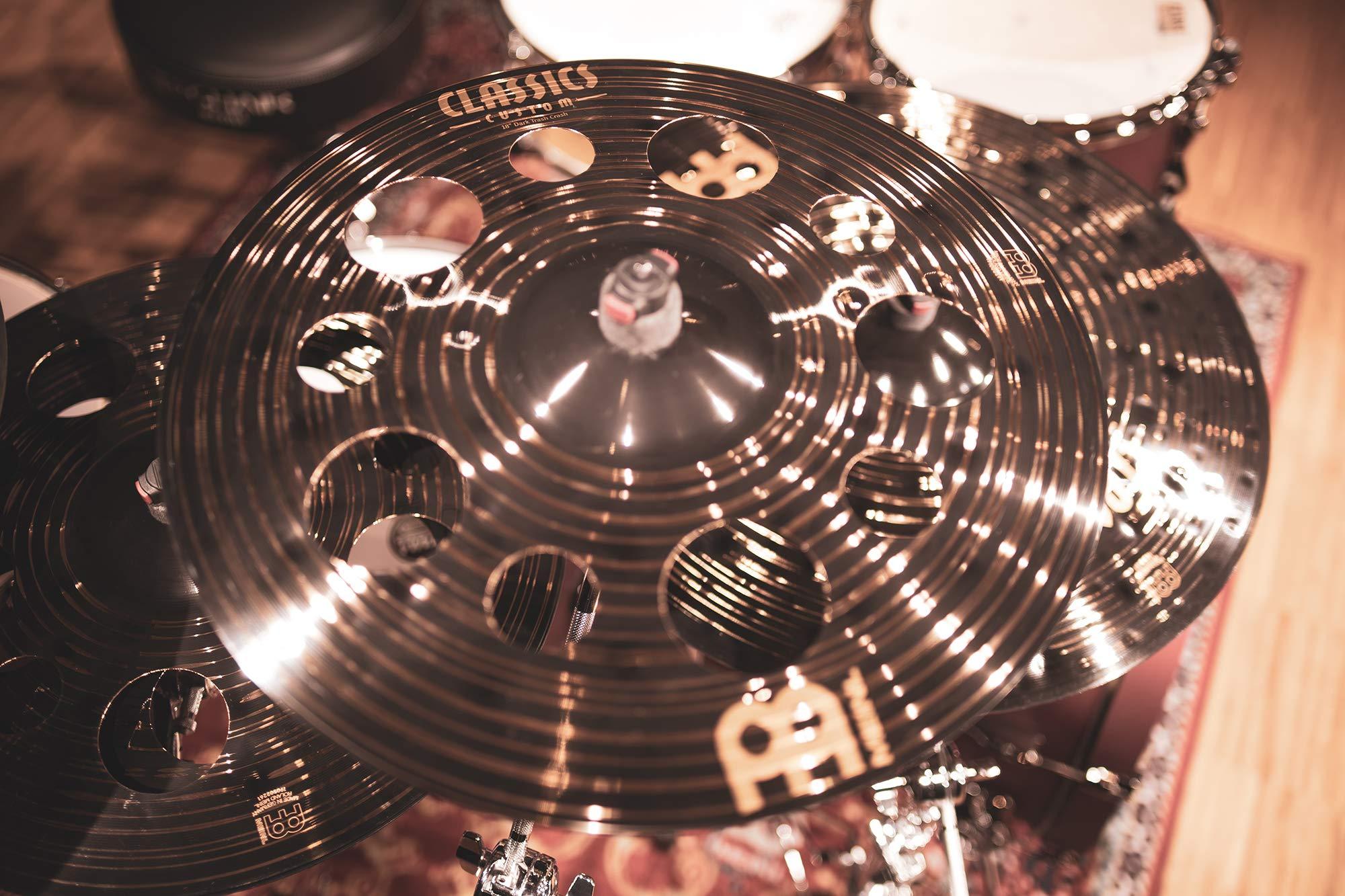 "Meinl 18/"" Classics Custom Dark Trash Crash Cymbal CC18DATRC"