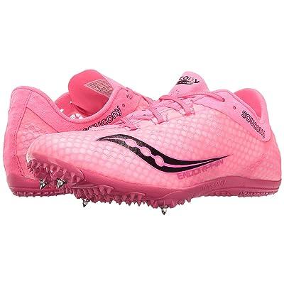 Saucony Endorphin (Pink/Black) Women