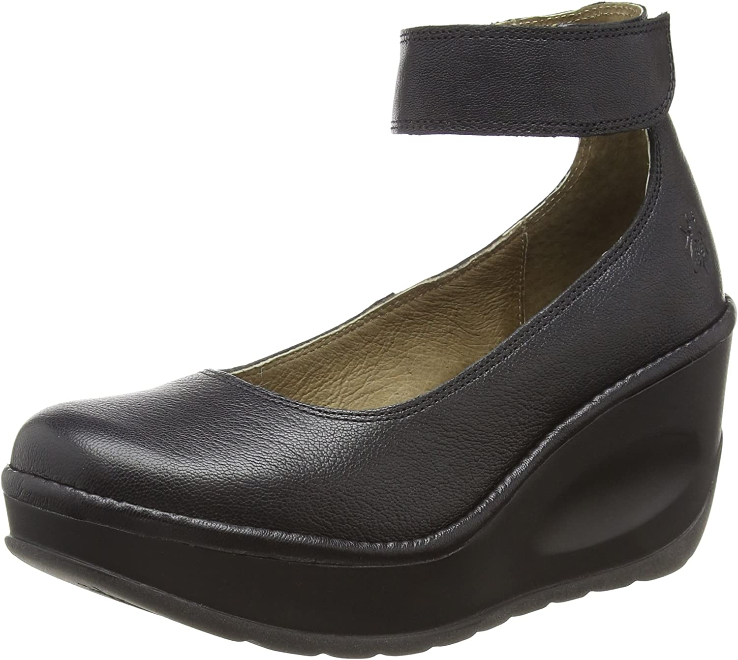 Fly London Womens JUVE923FLY Mousse Leather shoes