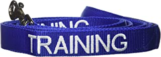 Dexil Limited TRAINING Blue Color Coded 2 4 6 Foot Or Coupler Professional Adjustable Dog Leash (Do Not Disturb) PREVENTS Accidents By Warning Others of Your Dog in Advance