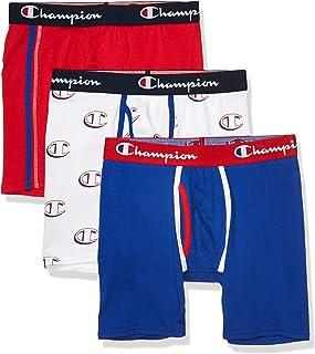 Men's Everyday Comfort Cotton Stretch Boxer Briefs 3-Pack