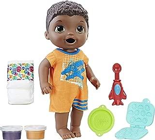 Baby Alive Super Snacks Snackin' Luke (Black Hair)