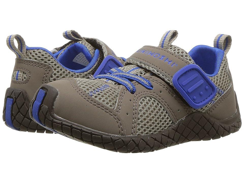 Tsukihoshi Kids Marina (Toddler/Little Kid) (Taupe/Royal) Boys Shoes
