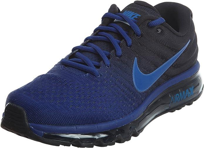 Nike Mens Air Max 2017 Running Shoes, Deep ... - Amazon.com