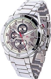 a831c13099 Galivier Montre Homme - Swiss Design Montre Bracelet Analogique à Quartz  Etanche Design Moderne avec Bracelet