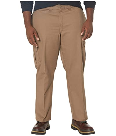 Dickies Big Tall Twill Cargo Pants (Mushroom) Men