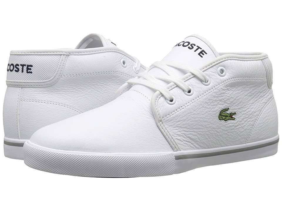 Lacoste AMPTHILL LCR3 (White/White) Men