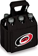 PICNIC TIME NHL Carolina Hurricanes Six Pack Insulated Neoprene Beverage Tote