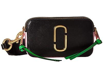 Marc Jacobs Snapshot (Black/Baby Pink) Handbags