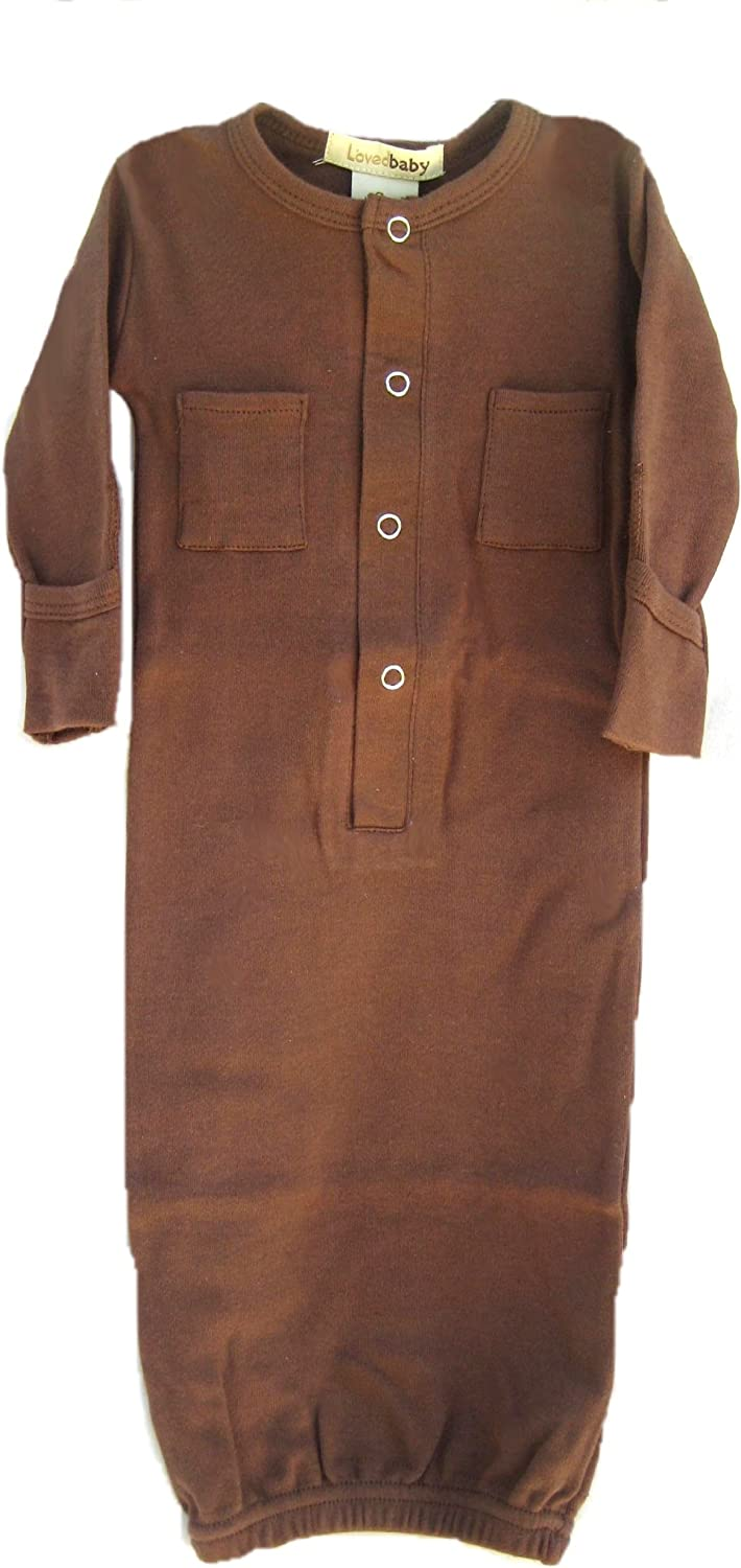 L'ovedbaby Gown Brown