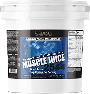 Best Ultimate Nutrition Muscle Juice 2544 Classic Gainer Protein (Vanilla, 10 Pounds) Review