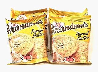 Grandma's Cookies Peanut Butter Flavored 4 Packs (8 Cookies)