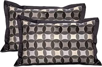 """Maspar Festive Solace Dream Decor Print Cotton Pillow Case - 19""""x29"""", Neutral"""