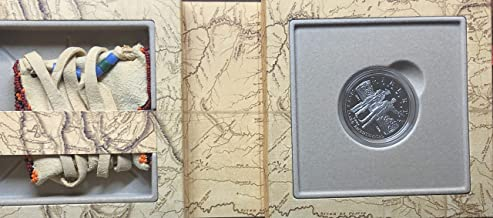 2004 P Lewis and Clark Coin and Pouch Beautiful Dollar Proof US mint