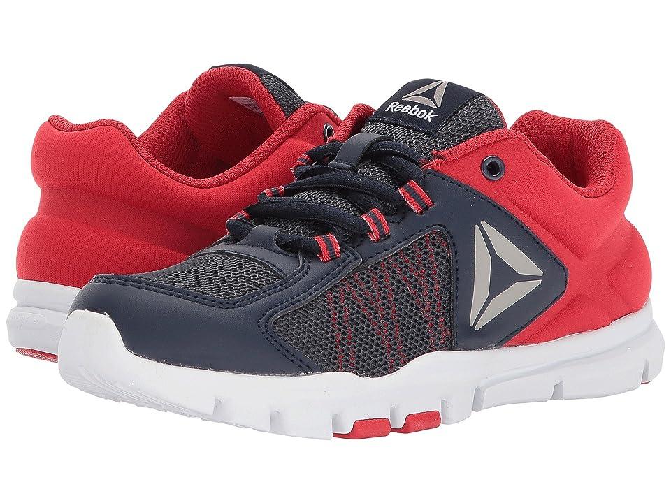 Reebok Kids Yourflex Train 9.0 (Little Kid/Big Kid) (Collegiate Navy/Primal Red/Pewter/White) Boys Shoes