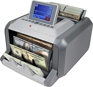 Cassida 7750R Mixed Denomination Money Counter Machine and Value Bill Reader with Advanced Counterfeit Detection UV, MG, C...
