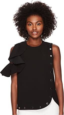 Afro Cold Shoulder Top