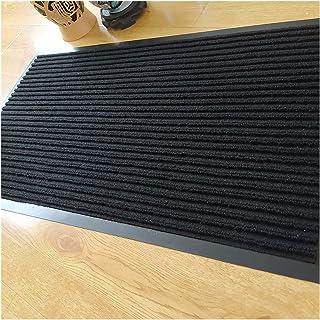 Doormat Heavy Duty Large Outdoor Indoor Entrance Doormat Red Waterproof Low Profile Entrance Rug Front Door Mat Patio Ant...
