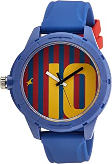 FASTRACK Unisex's Multicoloured Dial Color Plastic Strap Watch - 38019PP02