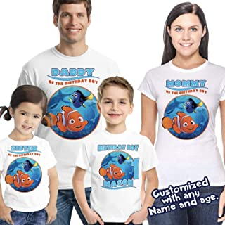 Nemo Birthday Shirt - Finding Nemo Birthday Shirt