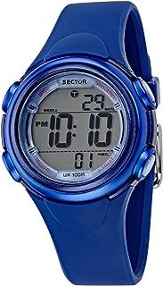 SECTOR Women's R3251591504 Year-Round Digital Blue Watch