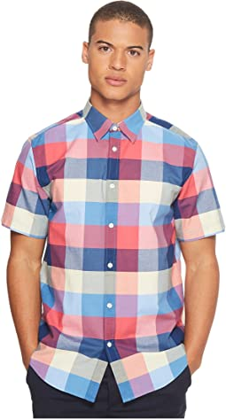 Ben Sherman - Short Sleeve Exploded House Gingham Shirt
