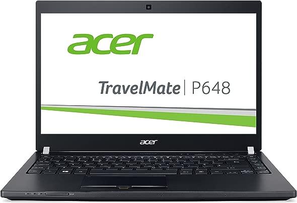 Acer TravelMate P648  P645-M-58J5  35 6 cm  14 Zoll Full HD IPS  Laptop  Intel Core i5-6200U  8GB RAM  256GB SSD  Intel HD Graphics 520  Win 10 Home  schwarz