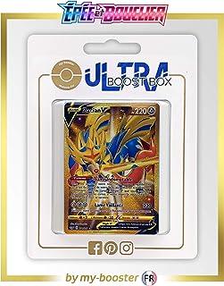 my-booster Zacian V 211/202 Secrète Gold - Ultraboost X Epée et Bouclier 1 - Coffret de 10 Cartes Pokémon Françaises
