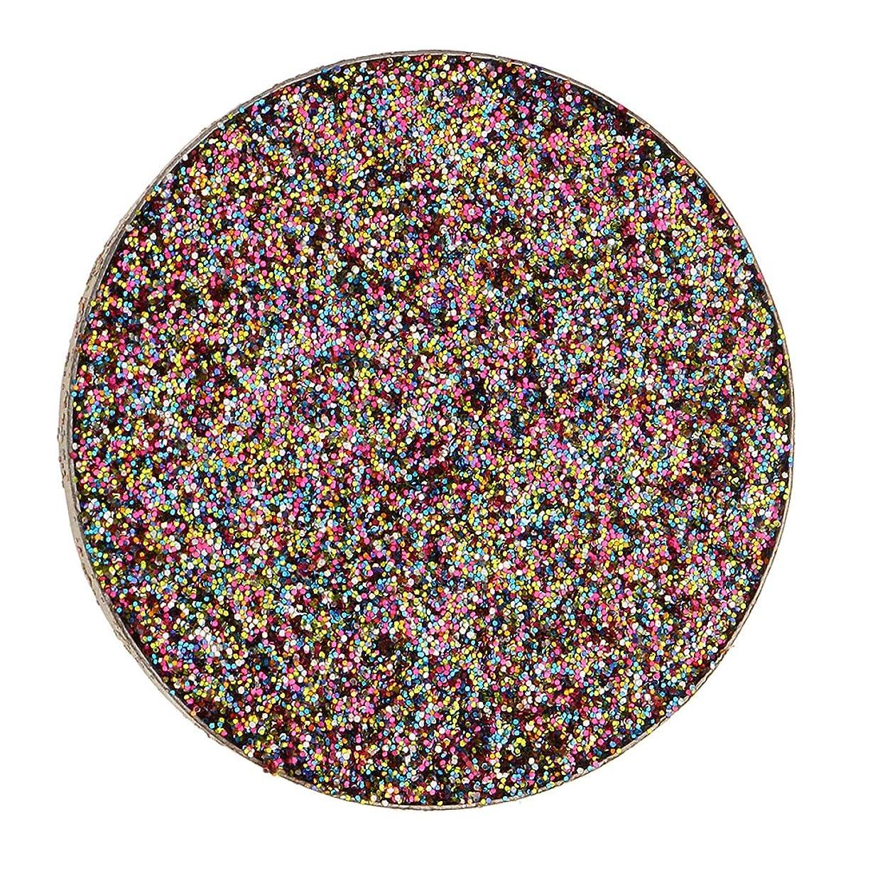 テレマコス東ティモール劇場Fenteer キラキラ シマー メイクアップ アイシャドウ 顔料 長持ち 目を引く 魅力的 全5色 - マルチ