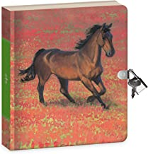 Best horse diary with lock and key Reviews