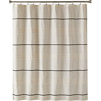 SKL Home by Saturday Knight Ltd. Frayser Shower Curtain, Fabric, Linen
