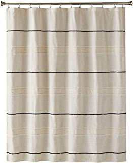 SKL HOME by Saturday Knight Ltd. Frayser Shower Curtain, Fabric, Linen