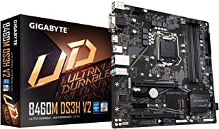 GIGABYTE B460M DS3H V2 (LGA 1200/ Intel/ B460/ Micro-ATX/M.2/ SATA 6Gb/s/USB 3.2 Gen 1/ Motherboard)