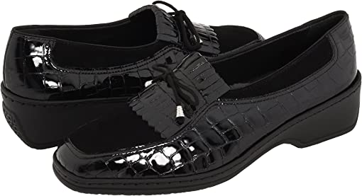 Black Nubuk/Croco