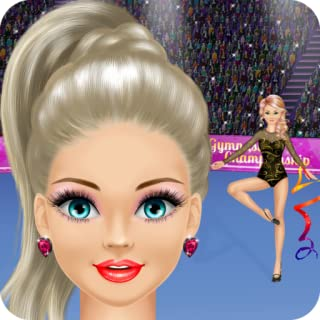 Gymnastics Salon: Spa, Makeup and Dress Up Gymnast Makeover Girly Girl Games