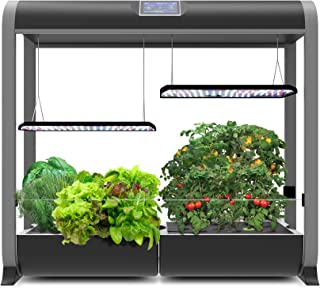 "AeroGarden Farm Plus - Black (24"" Grow Height)"