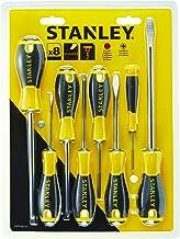 STANLEY STHT0-60210 Essentiële Schroevendraaier Set - Geel (8-Stuk)