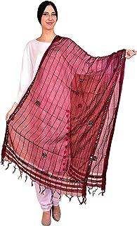 eloria Woman's Tissue Dupatta Scarf Shawl Stole Wrap
