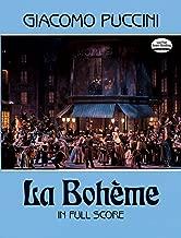 La Bohème in Full Score (Dover Music Scores) (Italian Edition)