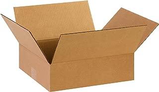 Partners Brand P14124 Flat Corrugated Boxes, 14