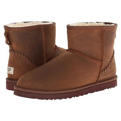 UGG Classic Mini Deco (Chestnut Leather) Men