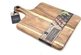 Bill F Sinds 1983 Acacia Hout Pizza Board/Serveerlade, Pizza Paddle Snijplank Bakken Shovel Cake Lifter voor het verplaats...