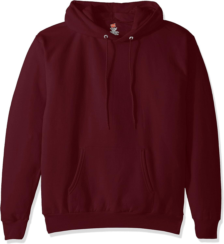 Hanes Adult Trust Max 48% OFF EcoSmart Pullover Maroon XXX-Large Hood