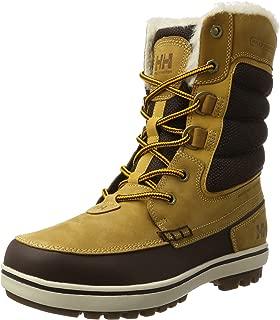 Helly Hansen Men's Cold Weather Garibaldi 2 Winter Snow Boots, New Wheat/Coffee Bean, 9